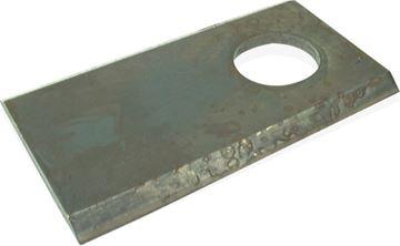 Image de Couteau plat 117 x 41 x 4 D 18,5 mm