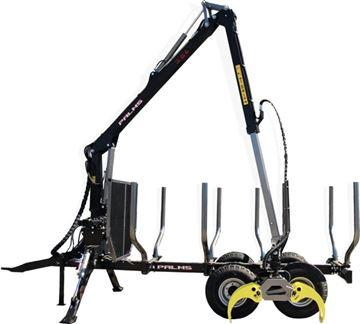Image de Remorque Palms 9 T PTAC & Grue 3.50 portée 5 m